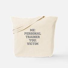 ME-PERSONAL-TRAINER-FRESH-GRAY Tote Bag