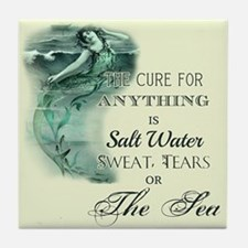 The Mermaids Cure Tile Coaster