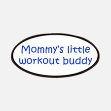 MOMMYS-LITTLE-WORKOUT-BUDDY-kri-blue Patches