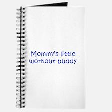 MOMMYS-LITTLE-WORKOUT-BUDDY-kri-blue Journal