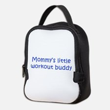 MOMMYS-LITTLE-WORKOUT-BUDDY-kri-blue Neoprene Lunc