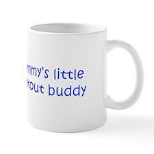 MOMMYS-LITTLE-WORKOUT-BUDDY-kri-blue Mugs