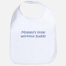 MOMMYS-LITTLE-WORKOUT-BUDDY-kri-blue Bib