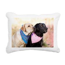 Just say go! Rectangular Canvas Pillow