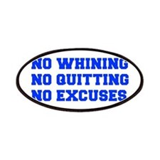 NO-WHINING-FRESH-BLUE Patches