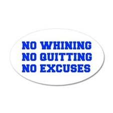 NO-WHINING-FRESH-BLUE Wall Decal