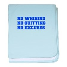 NO-WHINING-FRESH-BLUE baby blanket