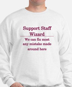 Support Staff Wizard Jumper
