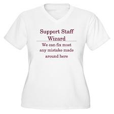 Support Staff Wizard T-Shirt