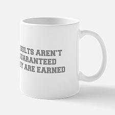 RESULTS-ARENT-GUARANTEED-FRESH-GRAY Mugs