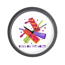 Bring On The Noise! Wall Clock