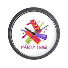Party Time! Wall Clock