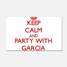 Keep calm and Party with Garcia Wall Decal