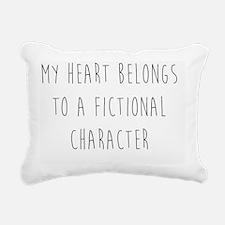 Fictional Character Rectangular Canvas Pillow