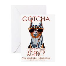 Biatcha Greeting Card