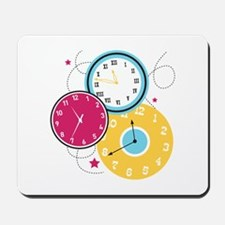 Clocks Mousepad