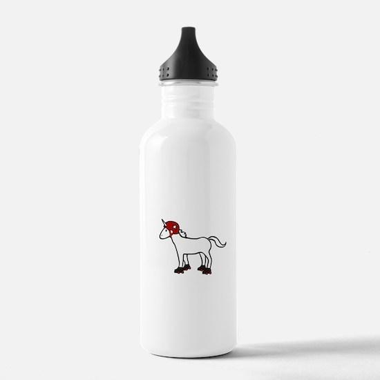Roller Derby Unicorn Sports Water Bottle