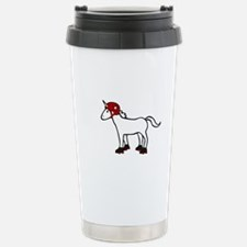 Roller Derby Unicorn Travel Mug
