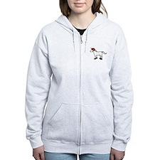 Roller Derby Unicorn Zipped Hoodie