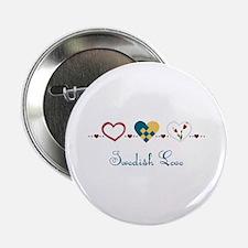 """Swedish Love 2.25"""" Button"""