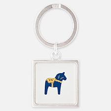 Dala Horse Keychains
