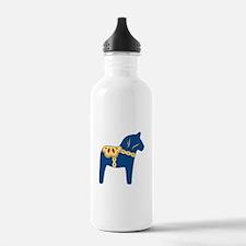 Dala Horse Water Bottle