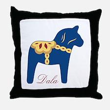 Dala Throw Pillow