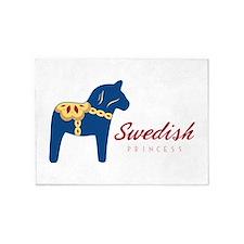 Swedish Princess 5'x7'Area Rug