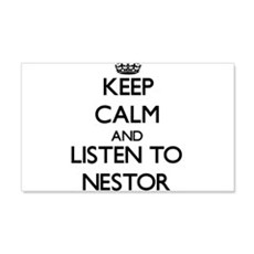 Keep Calm and Listen to Nestor Wall Decal