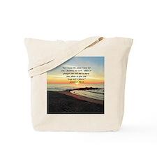 ISAIAH 41:10 Tote Bag