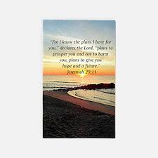 ISAIAH 41:10 3'x5' Area Rug