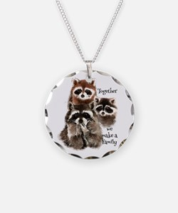 Together We Make A Family Necklace