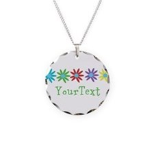 Personalize Flowers Necklace