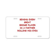 BRIDGE3 Aluminum License Plate
