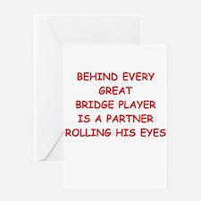 BRIDGE3 Greeting Cards