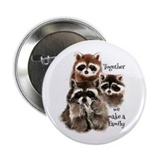 """Together We Make A Family 2.25"""" Button (10 Pa"""