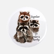 "Together We Make A Family 3.5"" Button (100 Pa"