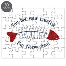 You Bet Your Lutefisk I'm Norwegian! Puzzle