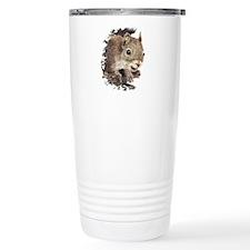Cute Watercolor Squirrel Animal Nature Art Travel