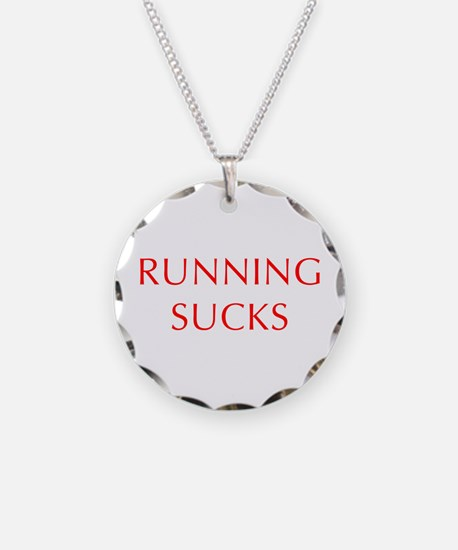 RUNNING--OPT-RED Necklace