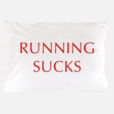 RUNNING--OPT-RED Pillow Case