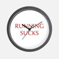 RUNNING--OPT-RED Wall Clock