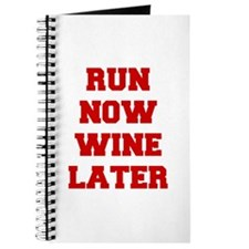 RUN-NOW-WINE-LATER-FRESH-RED Journal