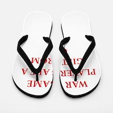 war game Flip Flops