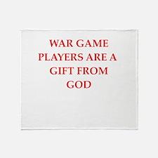 war game Throw Blanket