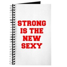 STRONG-IS-THE-NEW-SEXY-FRESH-RED Journal