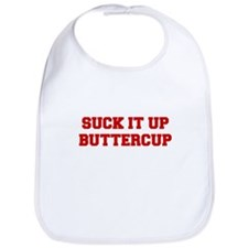 SUCK-IT-UP-BUTTERCUP-FRESH-RED Bib