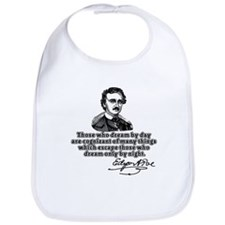 Poe Those Who Dream by Day Bib