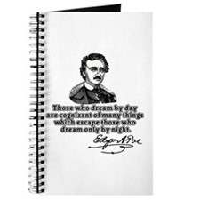Poe Those Who Dream by Day Journal