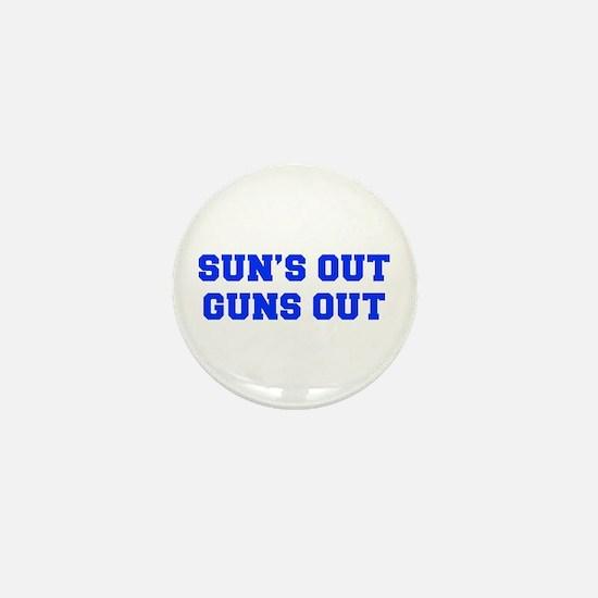 SUNS-OUT-GUNS-OUT-FRESH-BLUE Mini Button